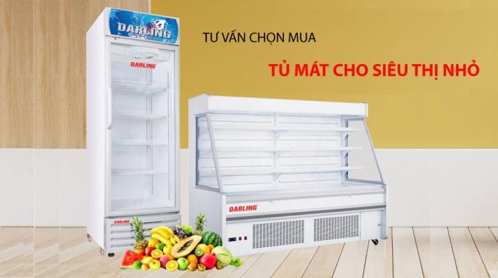 tư vấn chọn mua tủ mát cho siêu thị
