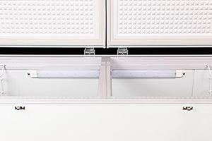 Tủ đông Darling là tủ đông đầu tiên được trang bị đèn led bên trong tủ