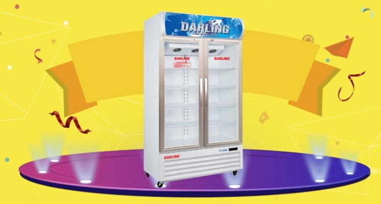 5 lý do nên mua tủ mát darling