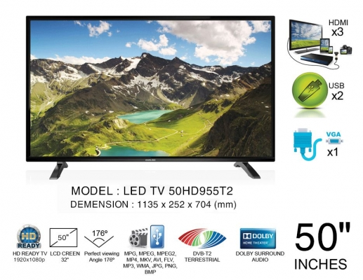 Tivi Led Darling 50 Inch 50HD955T2
