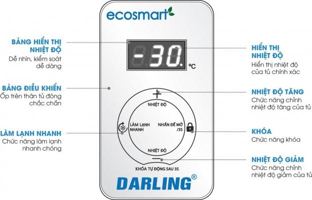 Tủ đông Darling Smart Inveter DMF-7699WSI