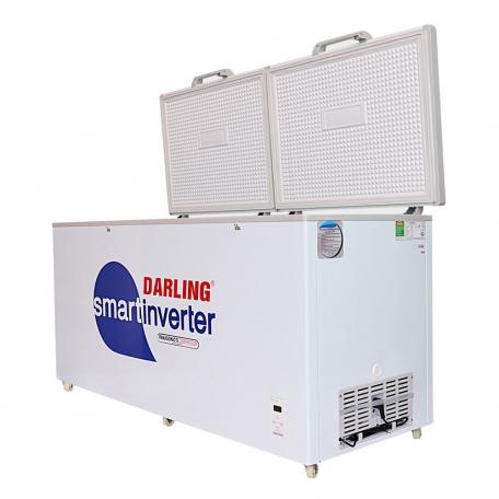 Tủ đông Darling Smart Inverter DMF-1179ASI dàn lạnh đồng, công nghệ inverter tiết kiệm điện