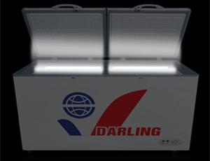 Tủ đông Darling có đèn led bên trong