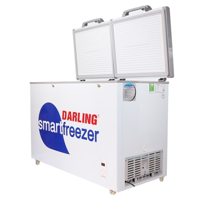 Tủ đông Darling SmartFreezer 4699WS với thiết kế 2 ngăn, 1 đông, 1 mát