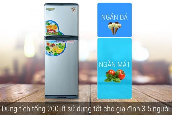 Tủ lạnh Darling 200 lít NAD2080WX