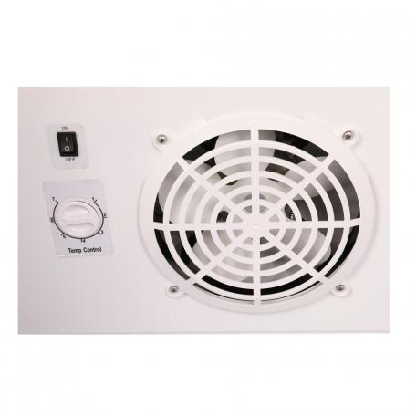 Quạt lồng sóc trong tủ mát Darling DL-4000A cho khả năng tản hơi lạnh đều hơn